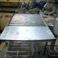 Roller conveyor, stainless steel