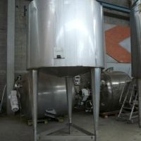 ETA Mixing stainless steel tank capacity 3000 L, insulated