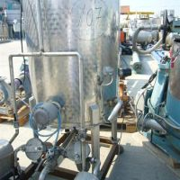 Stainless steel tank cap. 500L