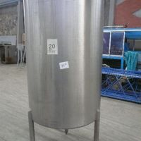 Stainless steel open tank capacity 1000 liters