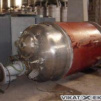 Cuve mélangeuse 3730 litres inox 316