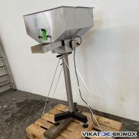 S/S hopper with vibrating feeder FARMA IMA GROUP type F51