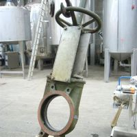 Stainless steel knife gate valve (LES 106)
