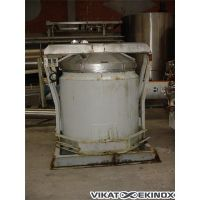 Stainless steel vertical agitated Tank – steel double jacket 1 100 L