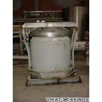 Cuve inox 316 agitée ouverte env. 1 100 L