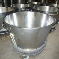 Stainless steel tank with filter of 400 liters
