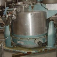 Decanter centrifuge RAPID ROUSSELET for spare parts