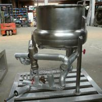 Melting tank, stainless steel, 120 liters