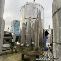 Stainless steel tank of 9000 liters