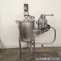Cuve agitée 90 litres avec pompe GRACO HUSKY 1030