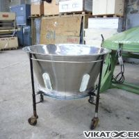 Tank for filtration
