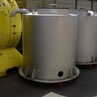 Stainless steel tanks of 1000 liters, new