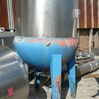 Stainless steel melting tank, 1200 liters