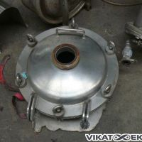 Manhole with stainless steel top (PCD 065)