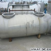 Stainless steel tank with insulation of approx. 1000L