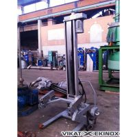 Stainless steel lift for containers