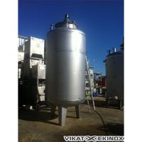 Stainless steel tank of 9000 liters, with agitator