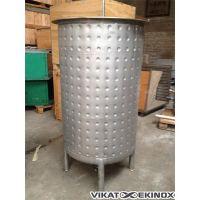 Cuve inox 316 env. 600 litres, double enveloppe