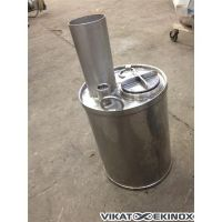 Stainless steel tank of approx. 20 litres