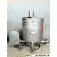 Cuve 100L inox Transitube avec extracteur planétaire