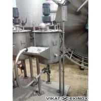 Cuve inox agitée 90 litres