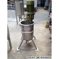 Cuve inox 304 env. 30 litres, agitée