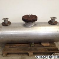 Horizontal stainless steel tank 250 litres