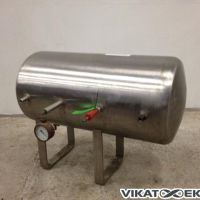 Air stainless steel tank approx. 100 litres