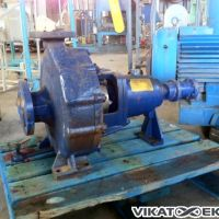 KSB pump housing in steel
