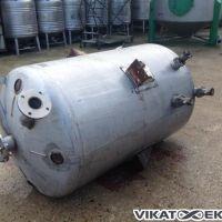 Cuve inox env. 1000 litres