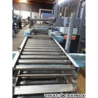s.s. roller conveyor L 1435 mm