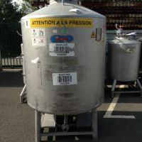 Container inox 1500 litres