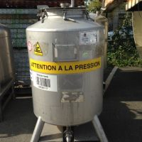 Container inox 450 litres