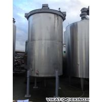 Agitated stainless steel tank approx. 5500 litres.