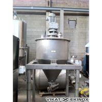 Cuve inox 450 Litres – Agitation cadre