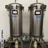 Stainless steel Eurofiltec filter type FC 450 AC