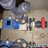 Close-coupled plastic pump type HMP- N25/100