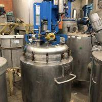 Réacteur 620 litres inox 316 double enveloppe