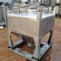 Container UCON inox 1000 litres poudre