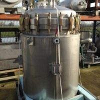 Double jacket stainless steel tank 820 L