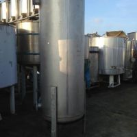 Stainless steel tank 1200 L