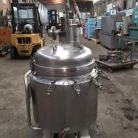 Double jacket stainless steel tank 173 L