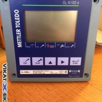 METTLER TOLEDO oxygen transmitter type 02 4100e