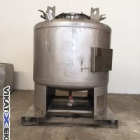 Stainless steel tank 1000 L, thickness 2.5mm