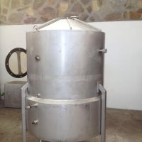 Stainless steel sump tank 1500 litres, double jacket