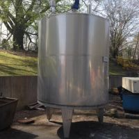 Stainless steel agitated tank 8000L