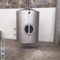 Stainless steel tank, 1800 L