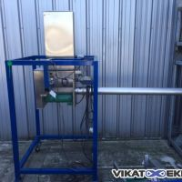 Stainless steel auger filler for powder