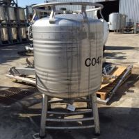 Food stainless steel container, 800 litres