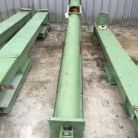 Steel screw conveyor 3900 mm